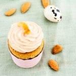 Möhren-Reis-Cupcakes mit Chai-Latte-Frosting
