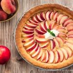 Pfirsich-Eistee-Tarte