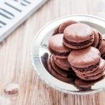 Schoko-Sichuan-Pfeffer-Macarons